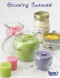 Soy Candles, a touch of Class Blooming Success all natural soy candles and defusers